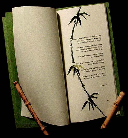 bamboo poetry book